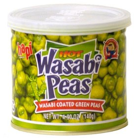 Hot Wasabi Peas